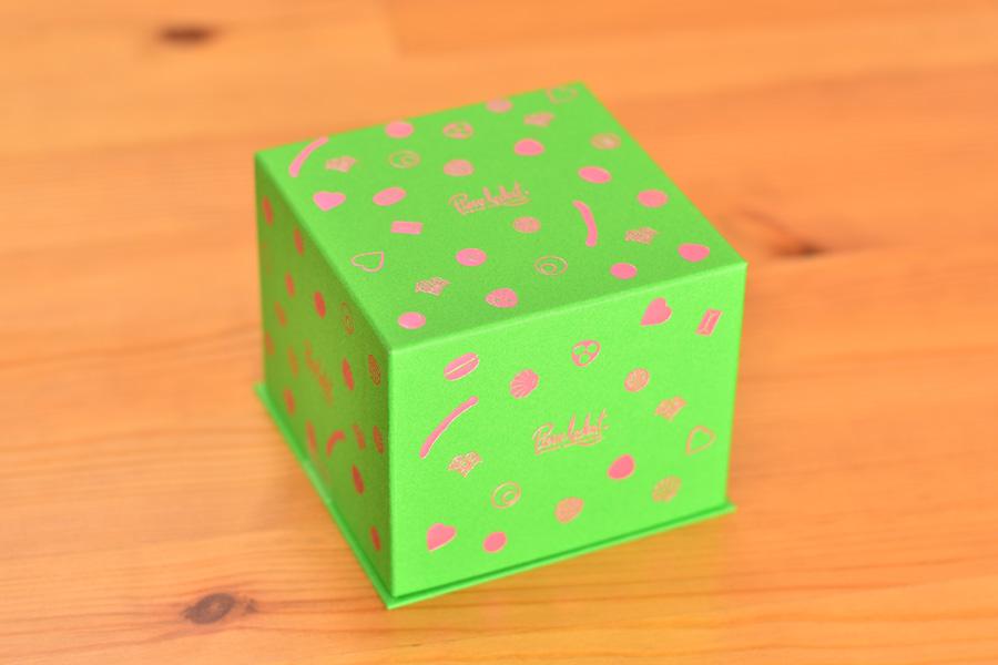 ベルギーチョコレートのピエール ルドンの箱