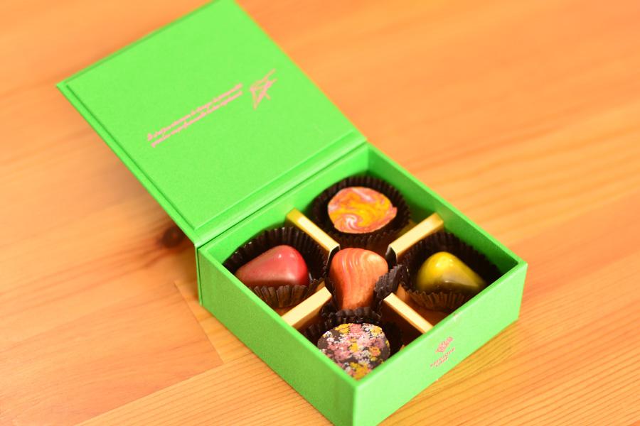 ベルギーチョコレートのピエール ルドンのチョコ